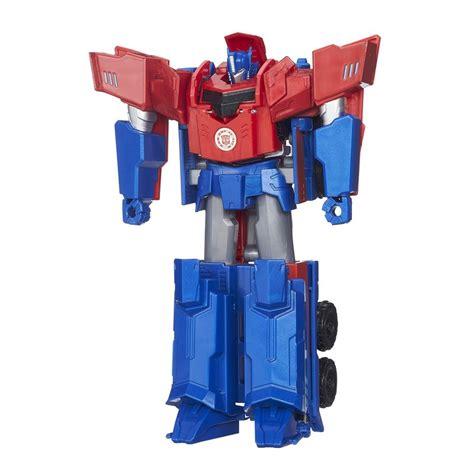 Change Robot Transformer Optimus Prime Stok Terbatas robots in disguise three step changer optimus prime robot