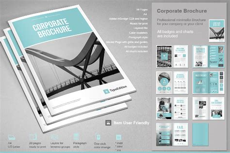 23 corporate brochure design psd download design