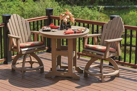 be earth friendly with outdoor recycled milk jug furniture