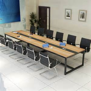 Large White Meeting Table Cheap Price Factory Direct Metal Legs Oem 8 Seater Conference Table Buy 8 Seater Conference