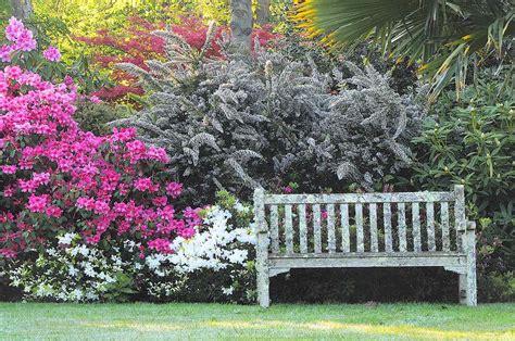 banc anglais jardin anglais banc le jardin de pellinec