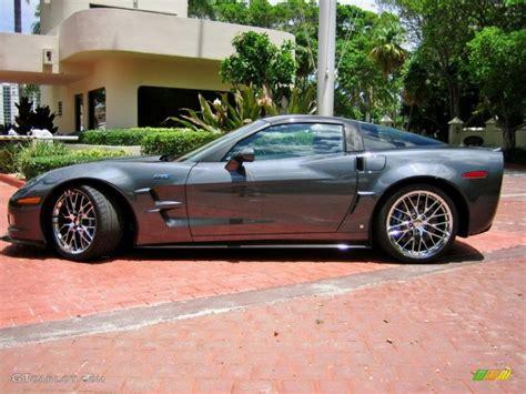 zr1 paint colors cyber gray metallic 2009 chevrolet corvette zr1 exterior