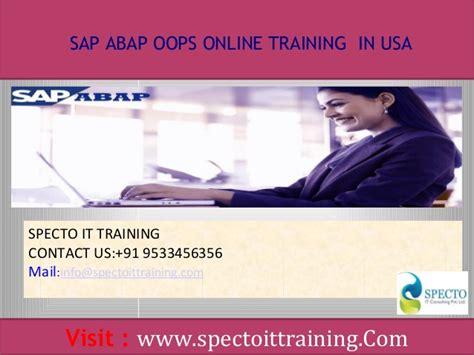 oops abap tutorial sap technical sap abap oops online training in usa