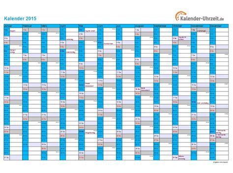 Kalender 2015 Mit Feiertagen Kalender 2015 Mit Feiertagen