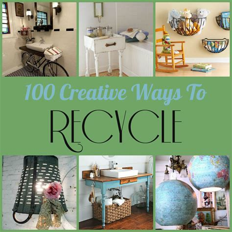 recycling ideas for home decor diy 100 home decor projects made by repurposing