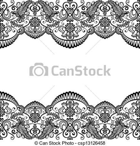 free printable thanksgiving lacing cards templates in black and white wedding invitation lace clipart clipartxtras