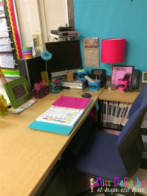 Classroom Desk Organization Ideas Best 25 Desk Organization Ideas On Substitute Folder And