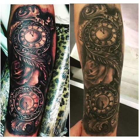 tattoo new vs healed 17 best images about watch tattoos on pinterest time