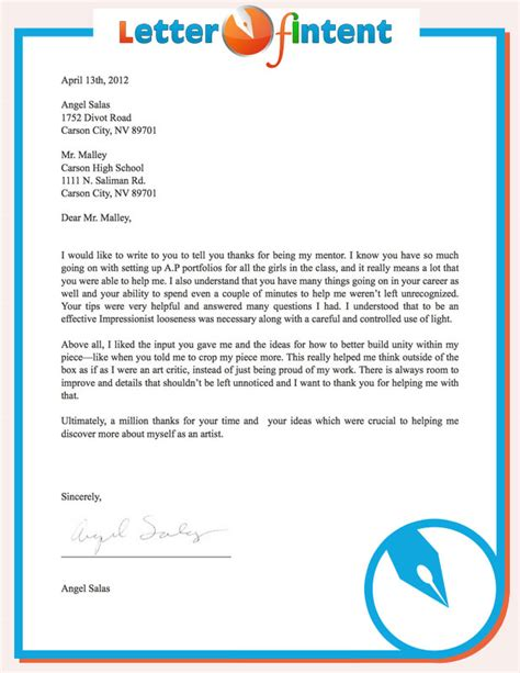 Letter Of Intent Email Template Of Intent Template What Is A Letter Of Intent Template