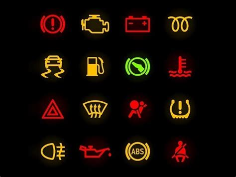warning lights on your car's dashboard what do they mean