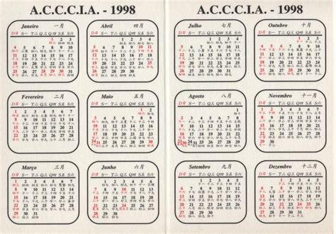Calend 193 A C C C I A De 1998 Nenotavaiconta
