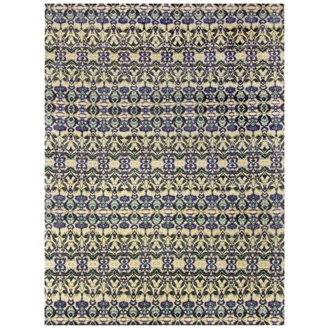 modern silk rugs modern eskayel natale cerulean silk rug for sale at 1stdibs