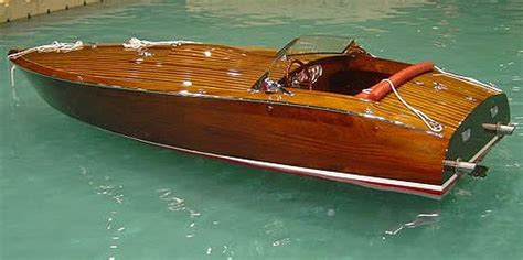 wooden race boat  port carling boats antique