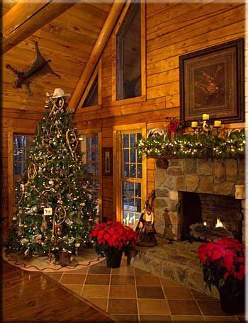 christmas decorating ideas for log homes 17 best ideas about western decorations on western tree country
