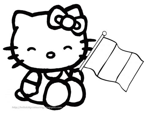 hello kitty and thanksgiving candle coloring page h m hello kitty black and white clip art 62