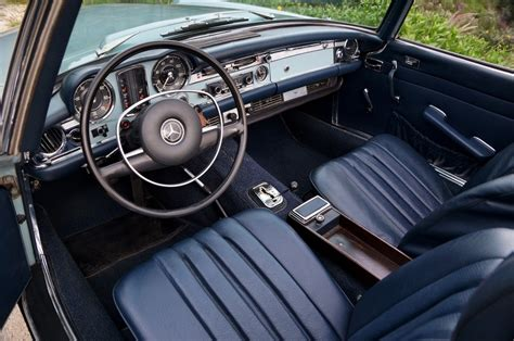 Mercedes 280sl Interior by Estate Survivor 1971 Mercedes 280sl