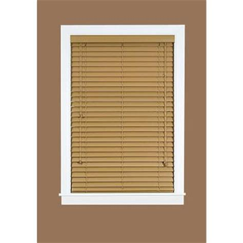 madera falsa maple 2 in faux wood plantation blind 36