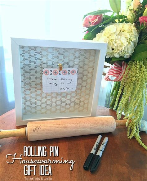 housewarming wedding gift idea rolling pin housewarming neighbor or wedding gift idea