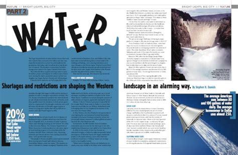 magazine layout for publisher magazine design work by lisa clare at coroflot com