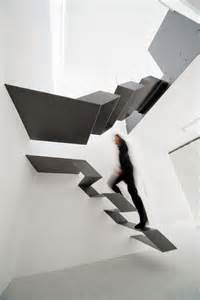 Galvanized Handrail 10 The Most Cool Floating Staircase Designs Digsdigs