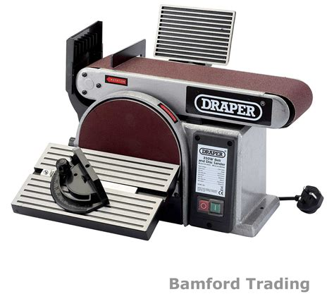 bench mounted belt sander draper bench mounted belt and disc sander sanding machine