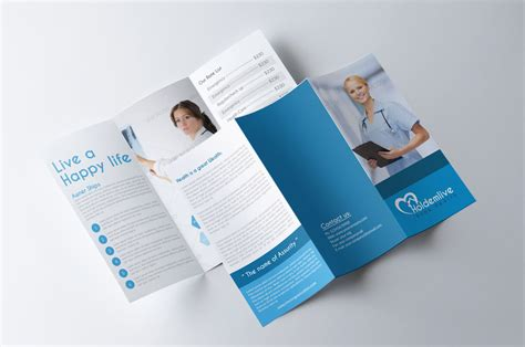medical tri fold brochure by designhub719 on deviantart