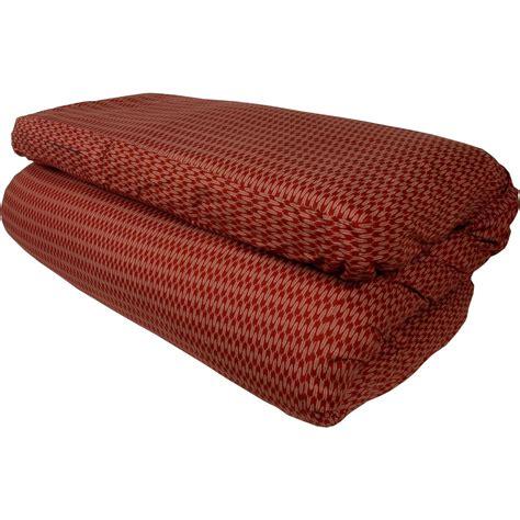 traditional shiki futon traditional shiki futon red ya gasuri