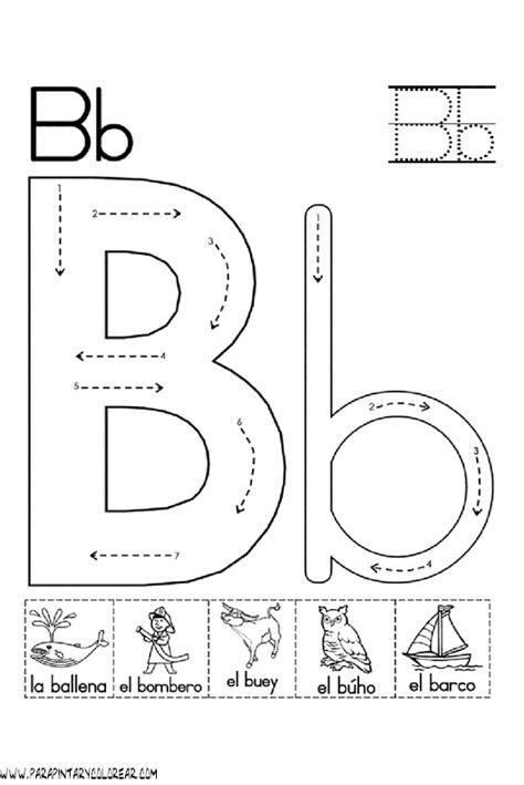 imagenes que empiecen con la letra b para recortar el abecedario dibujos para colorear ciclo escolar