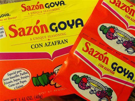 goya sazon