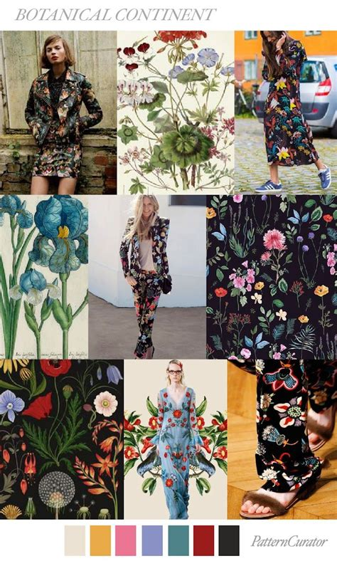 Trends Pattern Curator Botanical Continent Ss 2018 | 403 best images about trends ss 18 on pinterest