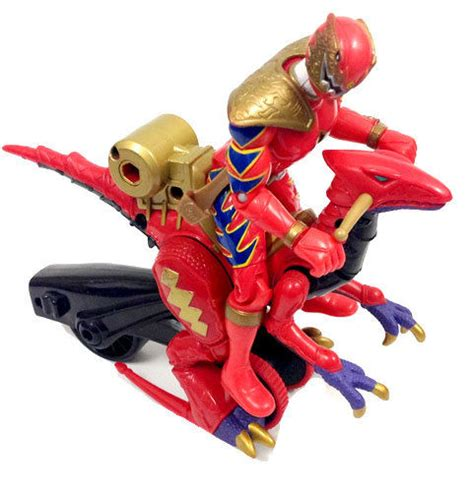 Mainan Power Ranger 5 Dino 28374 power rangers dino thunder 5 quot figure rider dinosaur