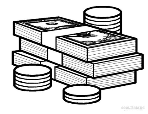 color money money coloring pages bestofcoloring