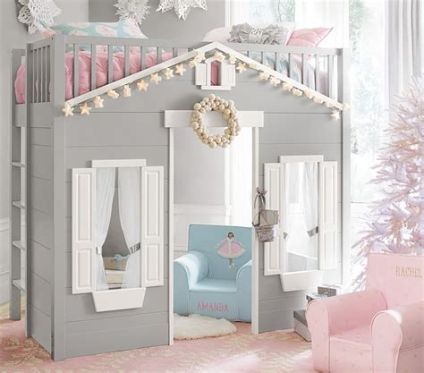 cottage loft bed 11 coolest playhouse beds for