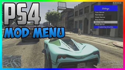 mod gta 5 ps4 gta 5 online new how to install ps4 mod menu after