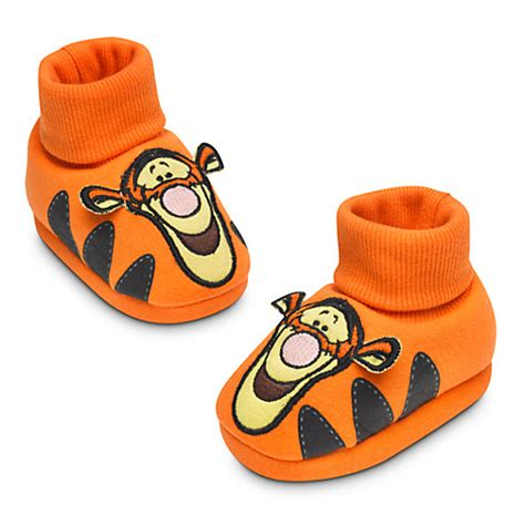 tigger slippers tigger plush baby slippers costume infant winnie the pooh