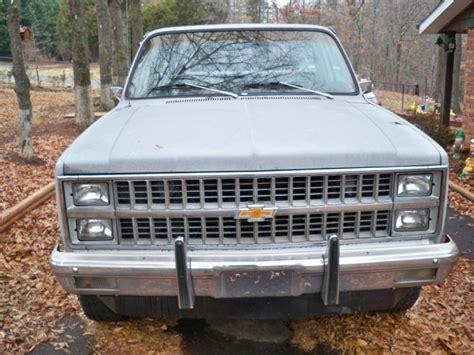 chevy silverado short bed 1982 chevy silverado 4x4 short bed truck