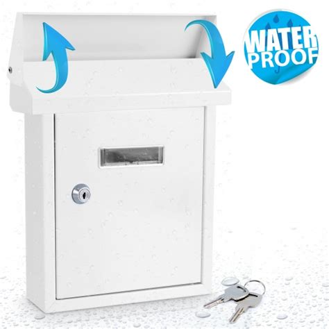 indooroutdoor wall mount locking mailbox safe boxes