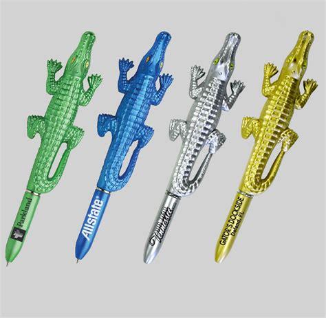 Pen Alligator chulani metallic alligator ballpoint pen advertising specialty products asi 45100
