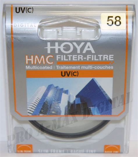 Hoya Cpl Hmc 52mm hoya 58mm slim frame digital hmc uv c multi coated 58 mm filter ebay