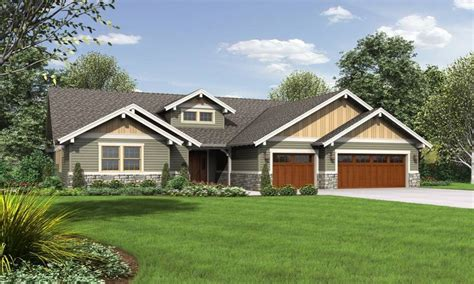 one story craftsman style homes single story craftsman style house plans single story