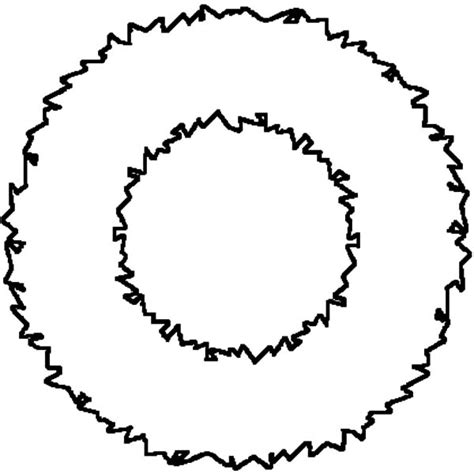 Cute Advent Wreath Coloring Page Coloring Pages Wreath Template