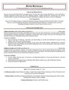 Infant Caregiver Sle Resume by Instructor Resume Cover Letter Http Www Resumecareer Info Instructor