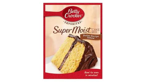 betty crocker cake mix recipes betty crocker moist favorites butter recipe yellow