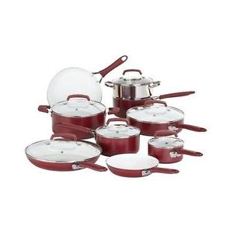 promo l living set keramik cookware ceramic cookware set 15 pc nonstick coated oven