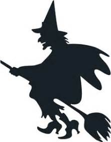witch silhouette template 1000 ideas about witch silhouette on