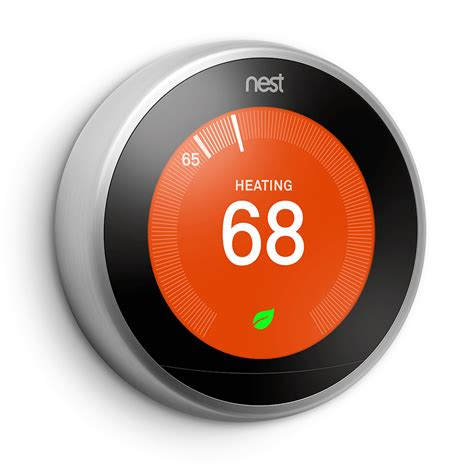 Nest Learning Thermostat, 3rd Generation, Works with Alexa     Amazon.com