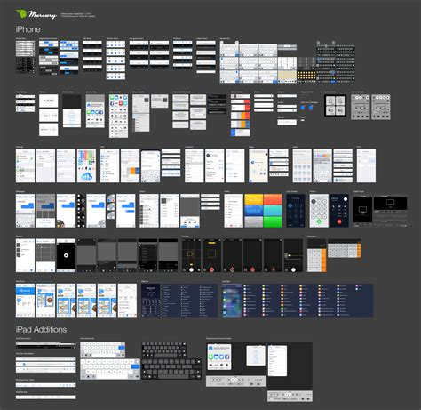 android zoom in and out layout free ios 8 illustrator vector ui kit mercury intermedia blog