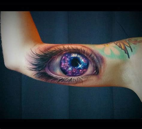 star galaxy tattoo designs galaxy eye