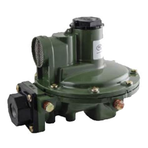 1,000,000 btu/hr second stage propane regulators w/rear
