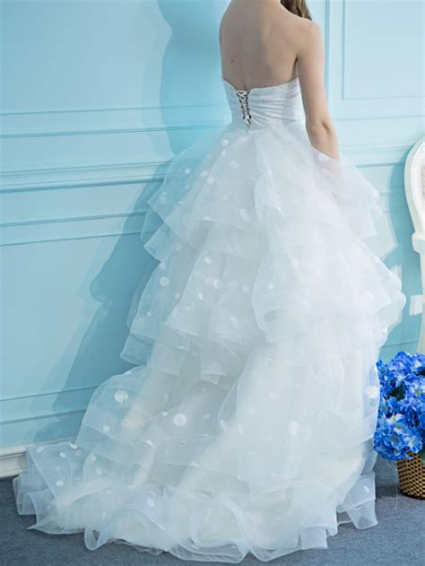 princess polka dot wedding dress destinychic on artfire